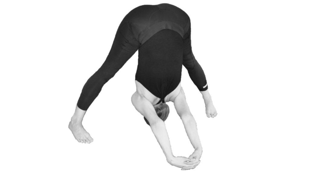 prasarita padottanasana c spreidstand yogahouding