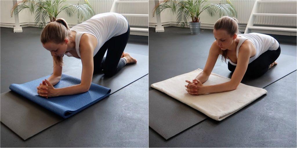 hoofdstand leren yoga