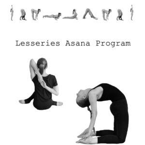 asana program lesseries boekje