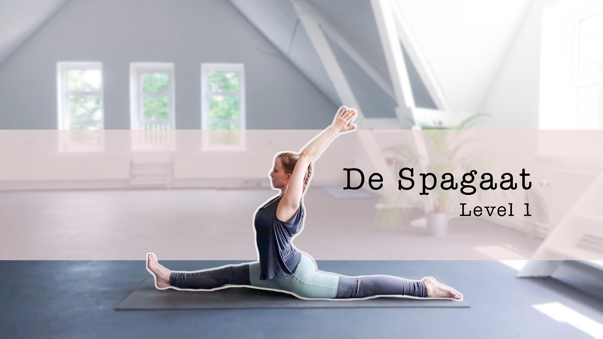 yoga spagaat leren