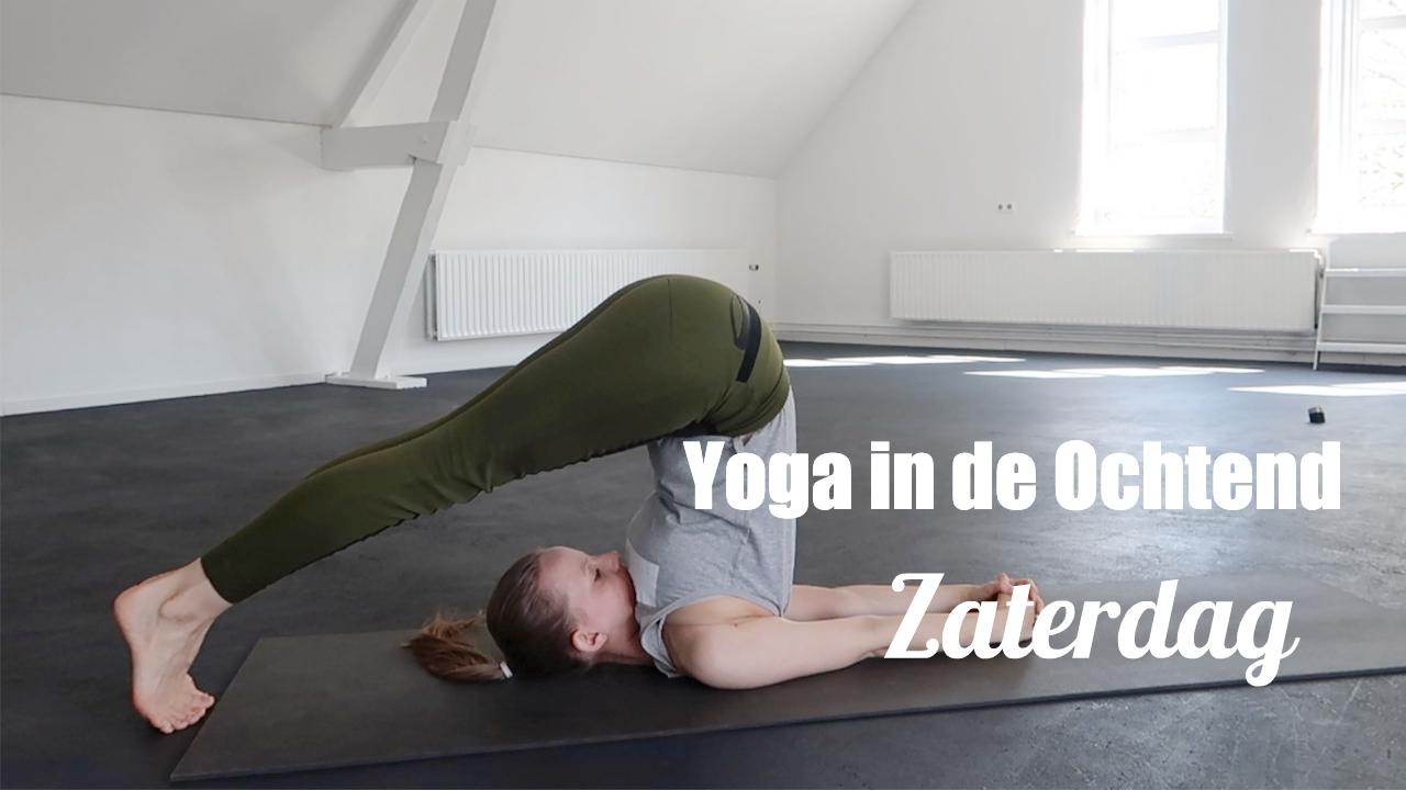 ochtend yoga ontspanning