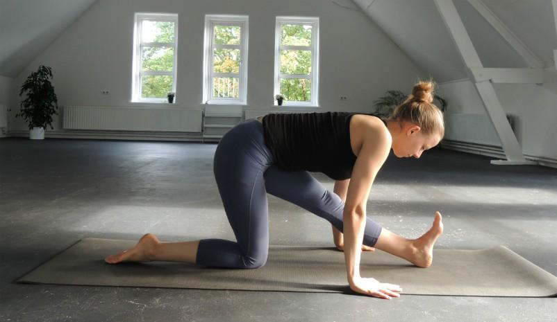 yoga voor de hamstrings