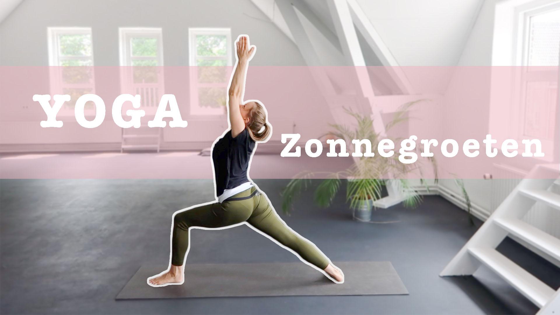 yoga zonnegroeten