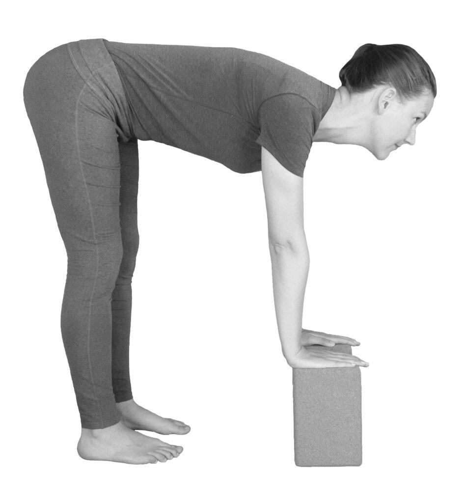 yoga vooroverbuigingen yogablokken