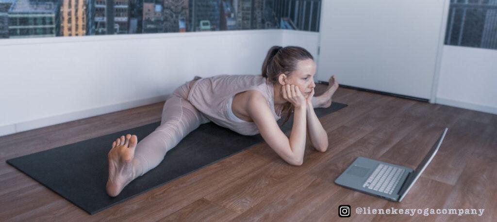 yoga heupopener spreidzit