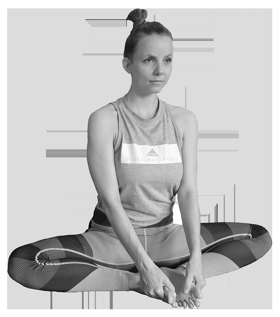 yogahouding baddha konasana