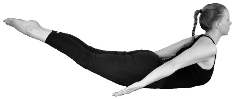 salabhasana yoga sprinkhaan