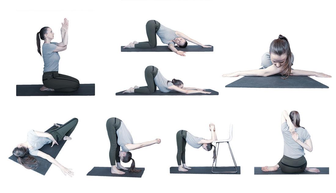 yogaserie schouders