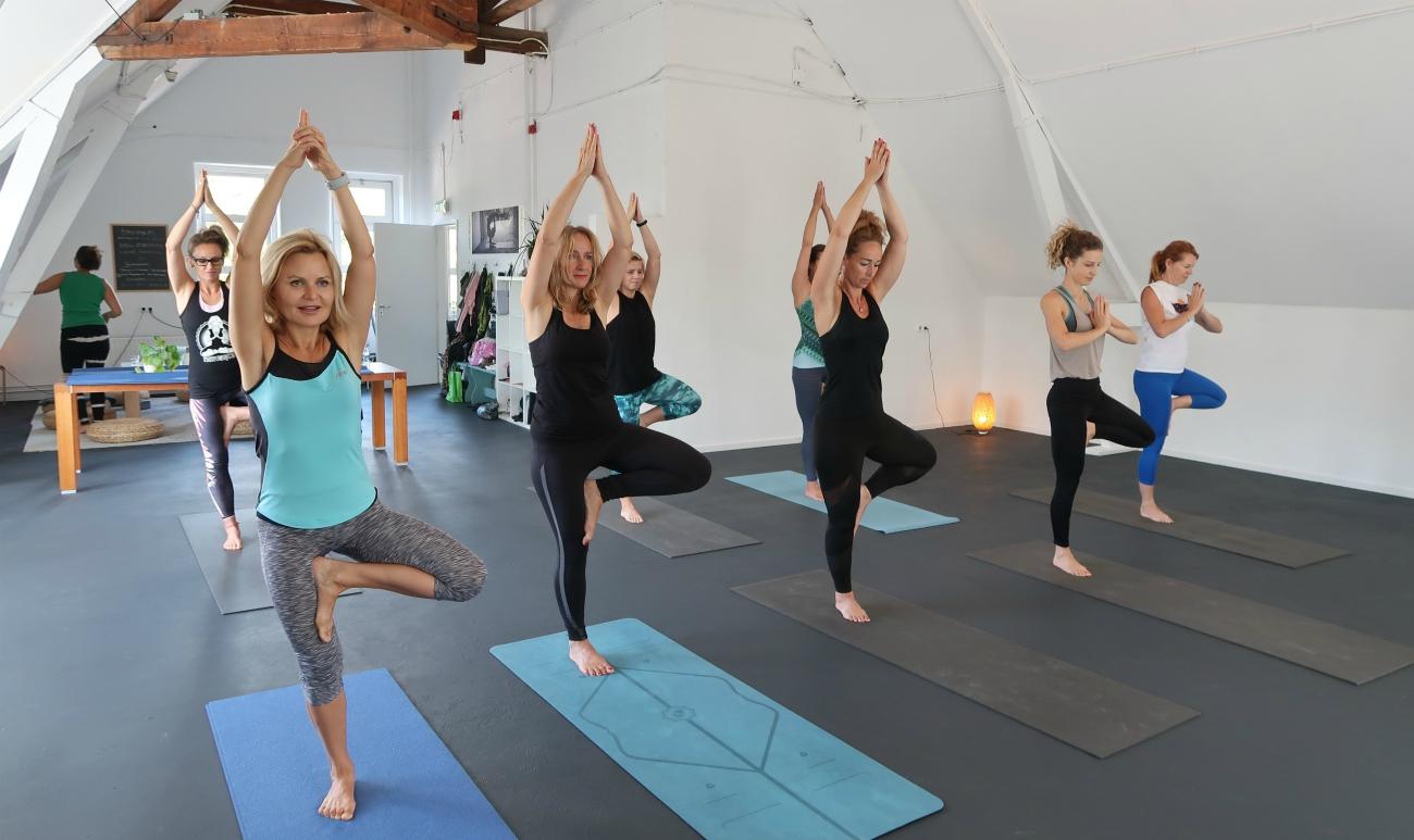 yoga in de ochtend