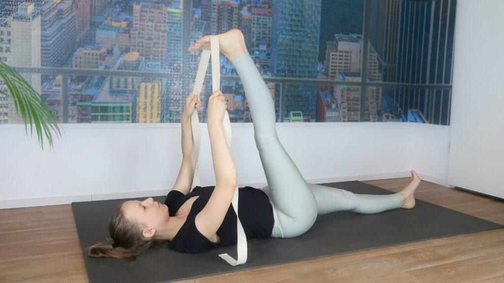 yogahouding voor flexibiliteit