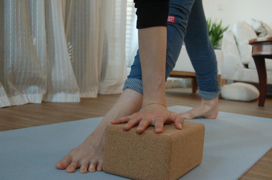 yoga parivrtta trikonasana krachtopbouw