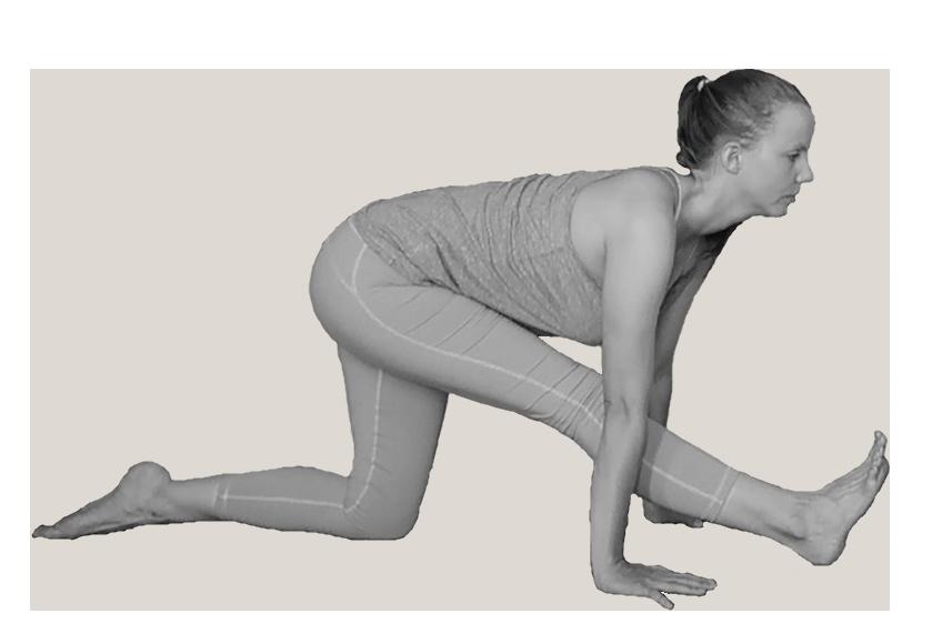halve spagaat yoga