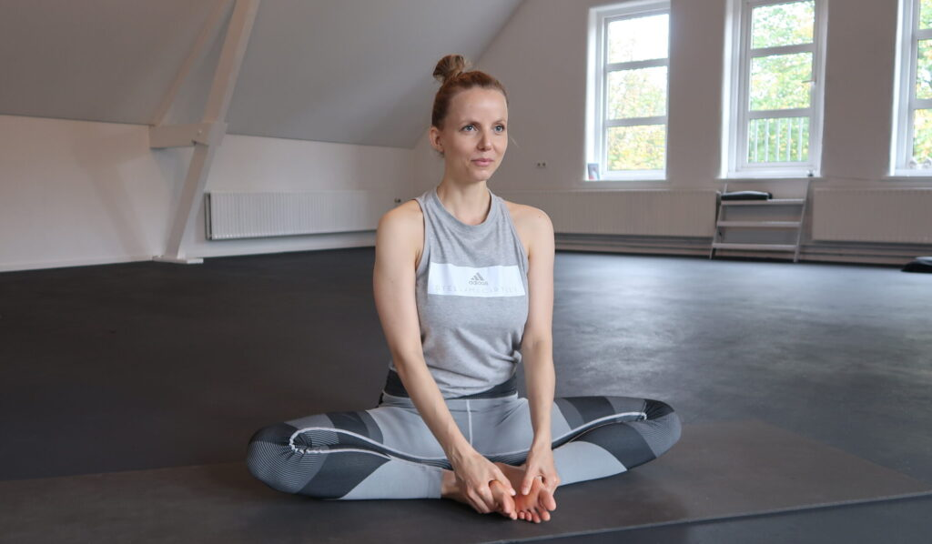 baddha konasana yogahouding binnenbeenspieren
